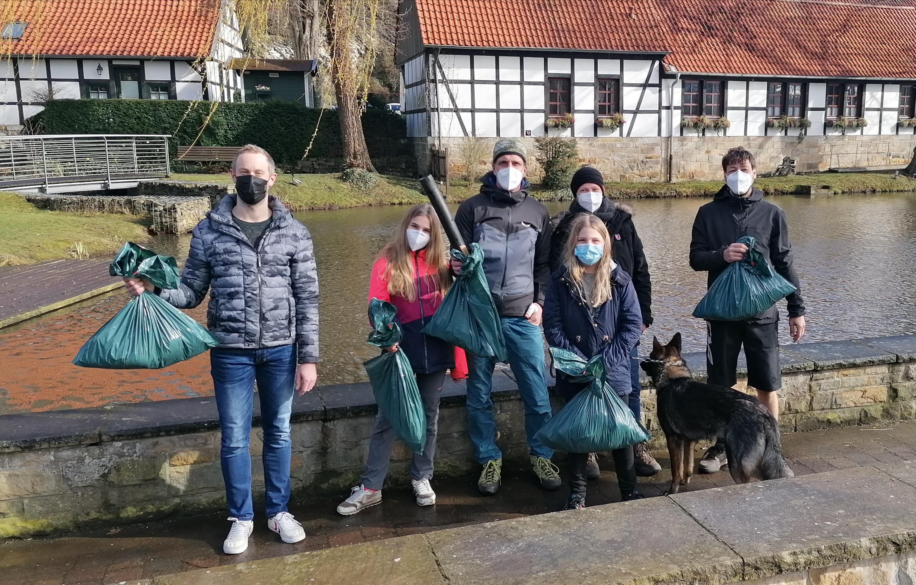 Naturfreunde Tecklenburg beim Brochterbecker Besentag 2021